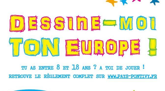 Concours «Dessine-moi ton Europe» jusqu'au 24 mai