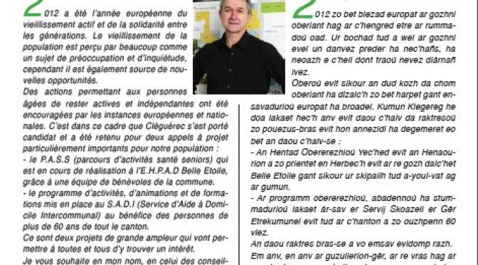 Bulletin municipal de Janvier