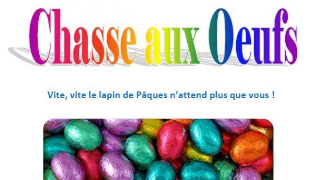 Lundi 17 Avril – Chasse au œufs !