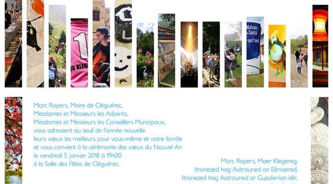 VEN. 05/01 | 19H00 | VOEUX DU MAIRE A LA POPULATION