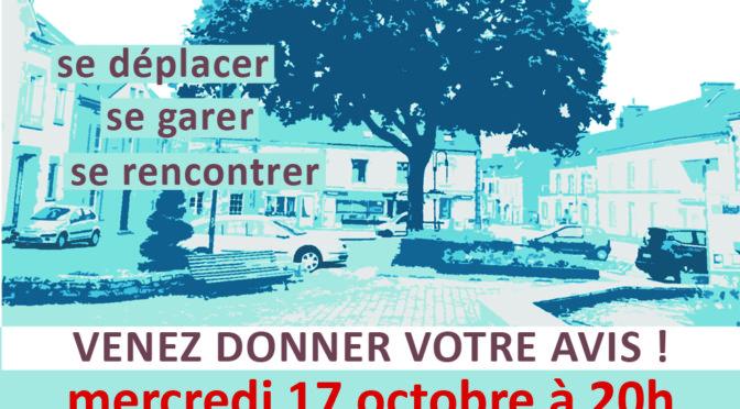 Atelier Public – Espaces du bourg, donnez votre avis !