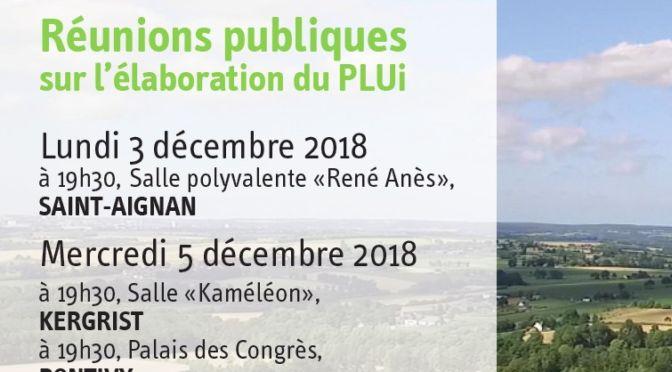 PLUi – Réunions publiques en décembre