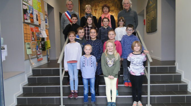 Les débuts du nouveau Conseil Municipal Enfants