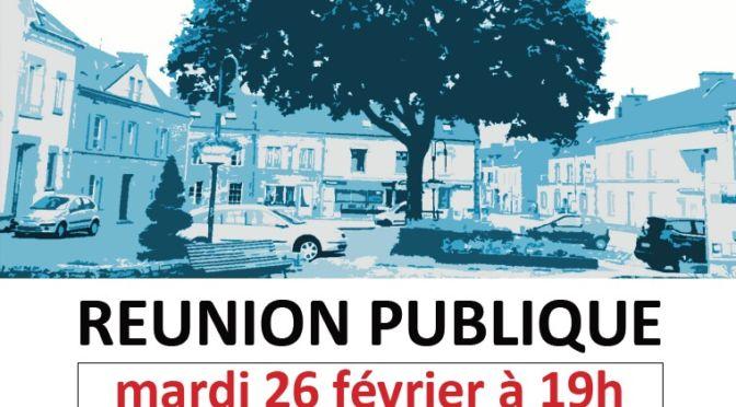 Aménagement des espaces publics | réunion le 26/02