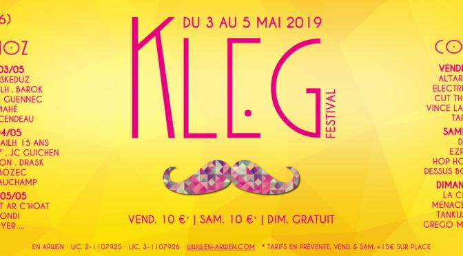 festival DE KLEG 2019 | DU 3 au 5 mai | clÉguÉrec