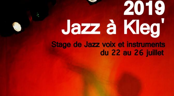 VEN. 26 JUILLET | 18h30 | «Partenariat – Jazz à Kleg'» | CLÉGUÉREC | PLACE POBÉGUIN