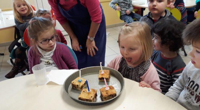 Les anniversaires de Novembre au Restaurant scolaire