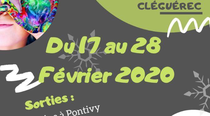 DU 17 AU 28 FEV. | ACCUEIL DE LOISIRS | CLÉGUÉREC
