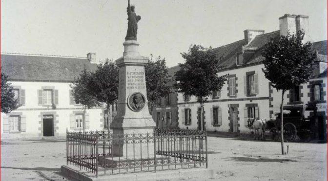 JOSEPH POBÉGUIN & SA STATUE DE LA LIBERTÉ  | CLEGUEREC