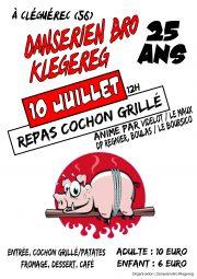 2016-07 DBK 25 ans cochon grille affiche
