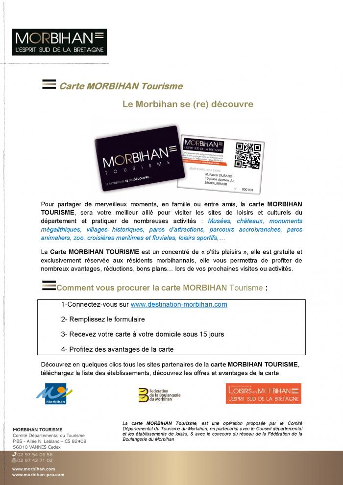 CARTE MORBIHAN TOURISME PDF POUR MAIRIES VERS 2