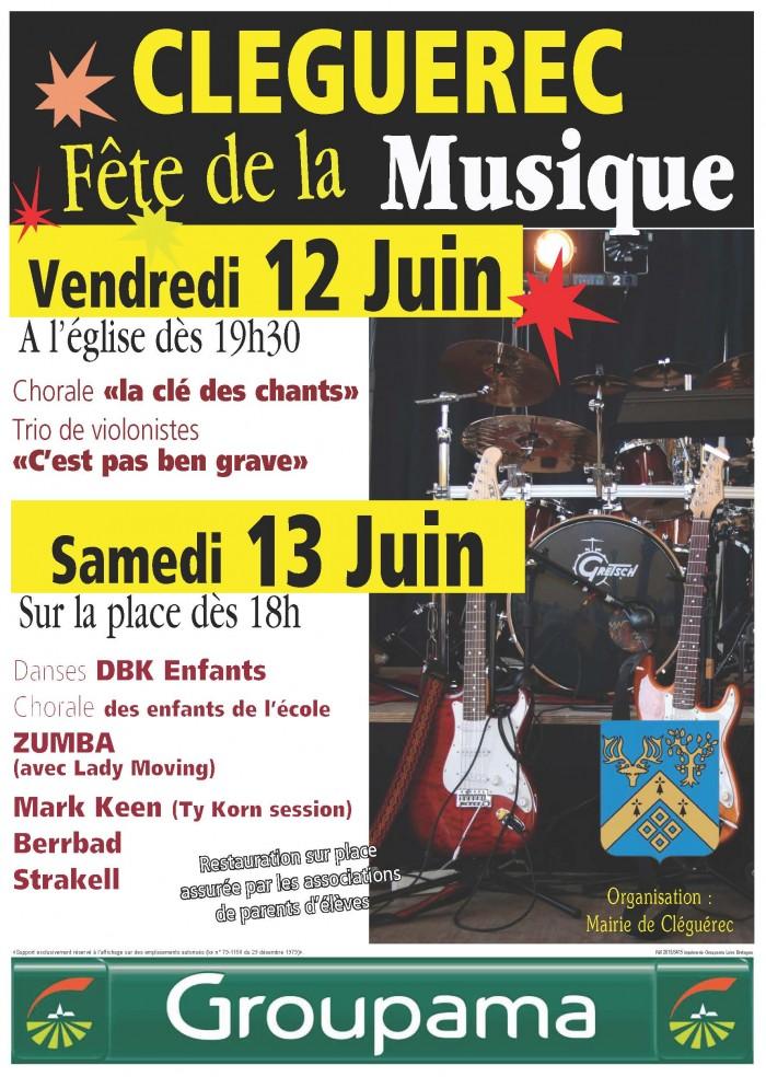 Cleguerec Fête de la musique 2015