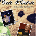 DUO D'OURS AFFICHE