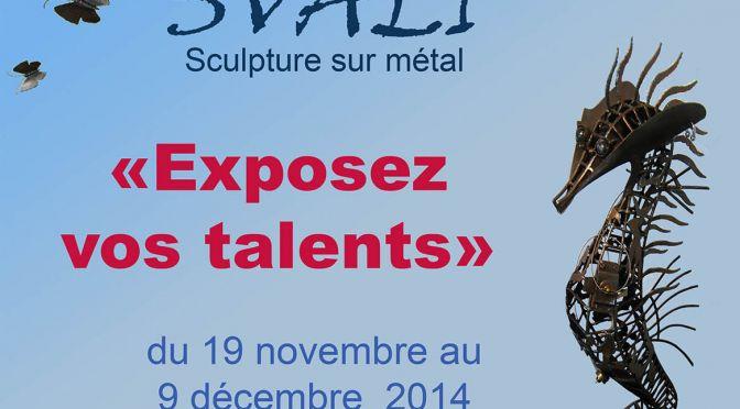 Exposition – Svali – Sculptures sur métal