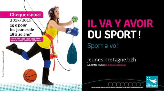 Chèque Sport 2015/2016: pour bouger sans se ruiner!