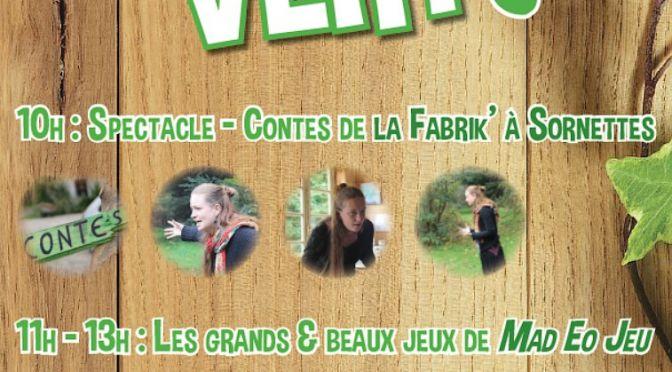 Samedi 30 Mai, «JEU suis VERT !» <br>La fête du Jeu… au naturel !
