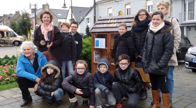 Conseil Municipal Enfants – L'envol des «livres voyageurs» !