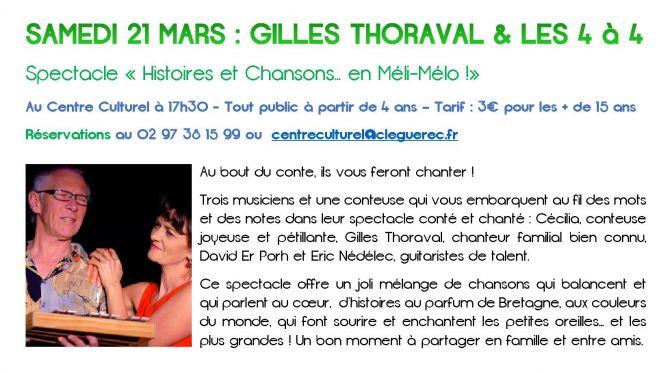 Programme d'animations Mars – Avril 2015