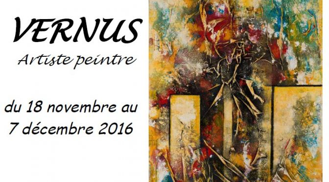 Vernus expose ses toiles à la Mairie