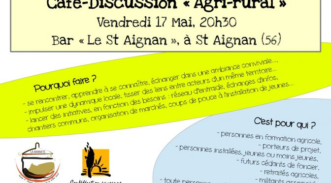 Café-Discussion «Agri-rural»