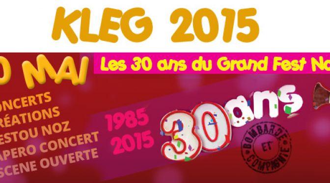 KLEG 2015 – 30 ans !