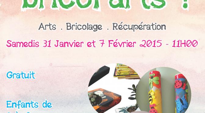 Ateliers Parents-Enfants «Les petits Bricol'arts» ! – COMPLET