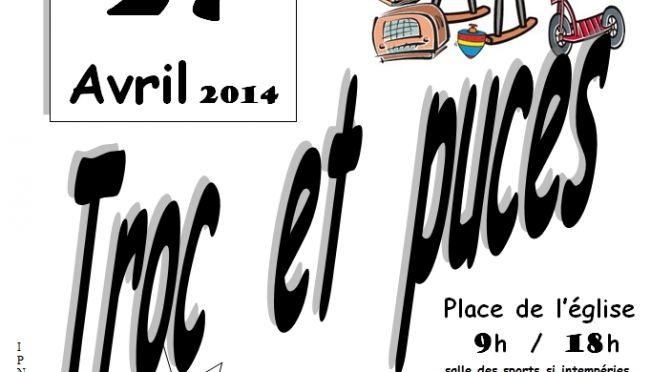 Troc et Puces – UCAC – Dimanche 27 Avril