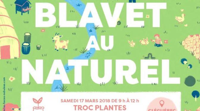 17-18 MARS | Troc aux Plantes et Conférence sur le Jardin Bio | Le Blavet au Naturel