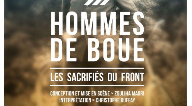DIM. 4 NOV. | 17H | «HOMMES DE BOUE, LES SACRIFIÉS DU FRONT»