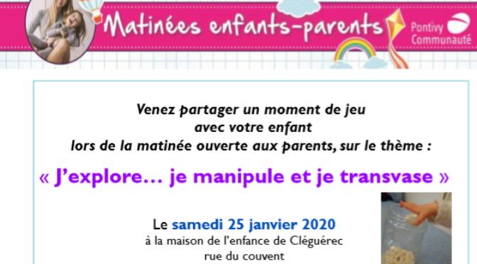 SAM 25 JAN | MATINÉE ENFANTS-PARENTS | RAM | CLEGUEREC