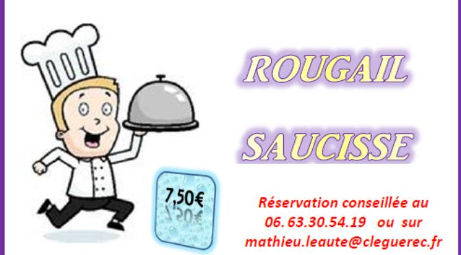 15 FEV. 2020 | ROUGAIL SAUCISSE | 11h30-13h | SALLE DES FÊTES