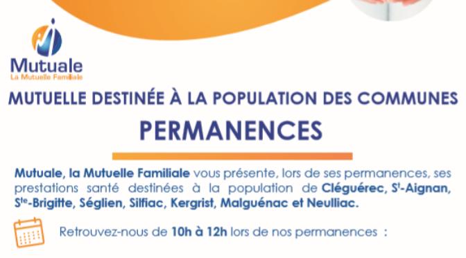 PERMANENCES MUTUELLE FAMILIALE | CLEGUEREC