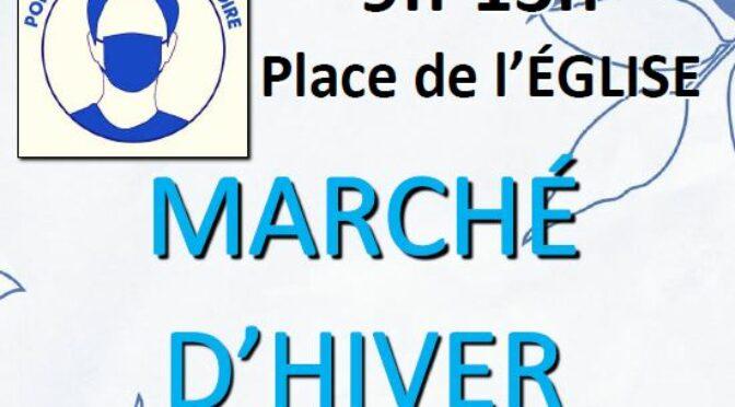 Samedi 16 janvier 2021 | Marché d'Hiver alimentaire | Noyal Pontivy