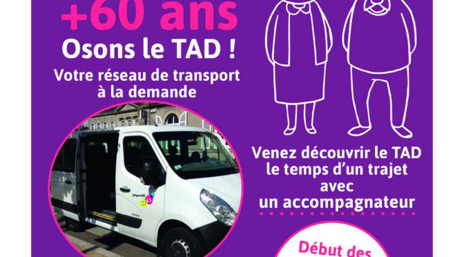 Transport : Osons le TAD !