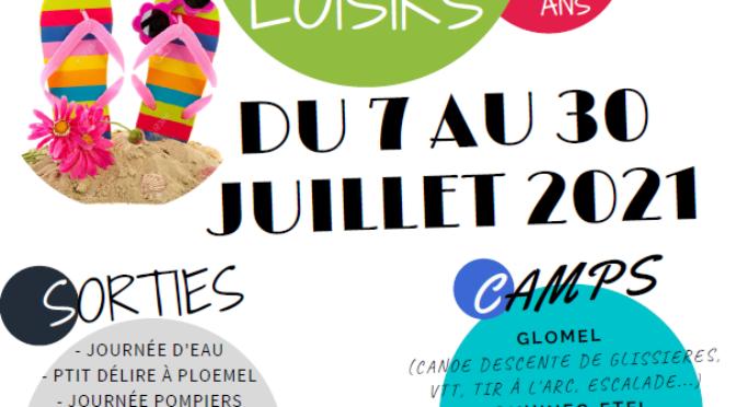 ACCUEIL DE LOISIRS | DU 7 AU 30 JUILLET 2021 | CLEGUEREC
