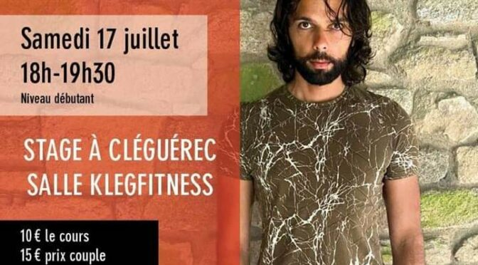 BACHATA | SAM. 17 JUILLET | STAGE | SALLE KLEG-FITNESS