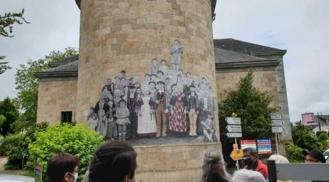 Collages commentés par des membres de l'association Danserien Bro Klegereg
