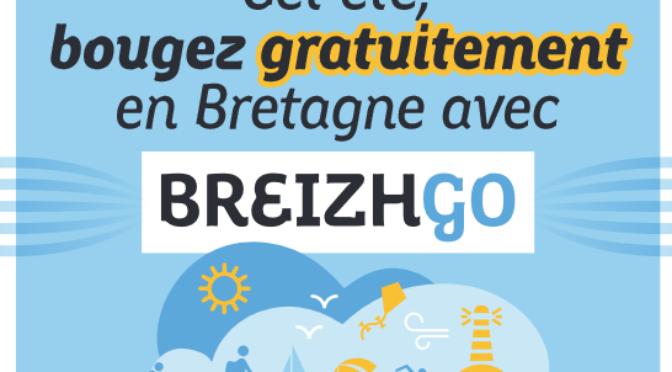 CET ÉTÉ BOUGEZ GRATUITEMENT EN BRETAGNE